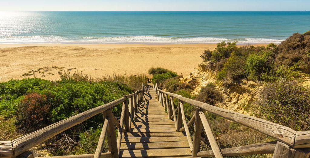 Aan de beste stranden van de Costa de la Luz