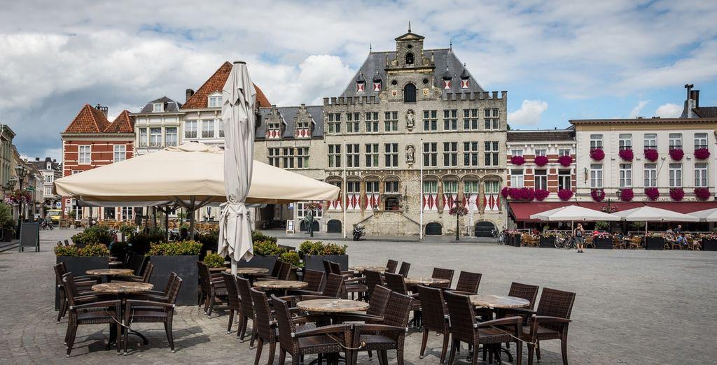 Ontdek de binnenstad van Bergen op Zoom