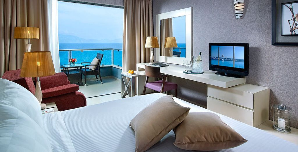 Of in een Premium Sea Front Kamer