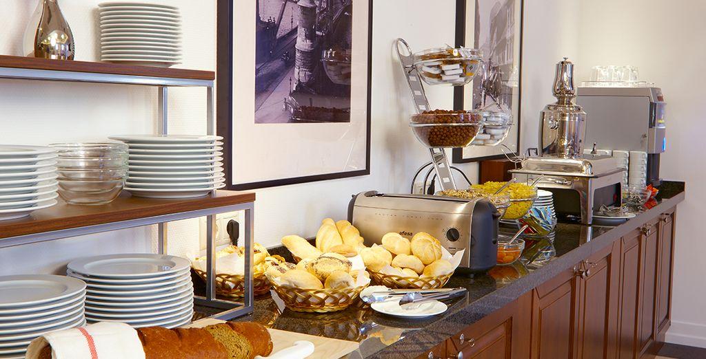 Geniet elke ochtend van een lekker ontbijt
