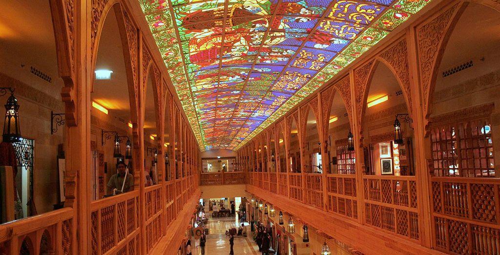 Ontdek het unieke en luxe shoppen in een van de vele winkelcentra in Dubai