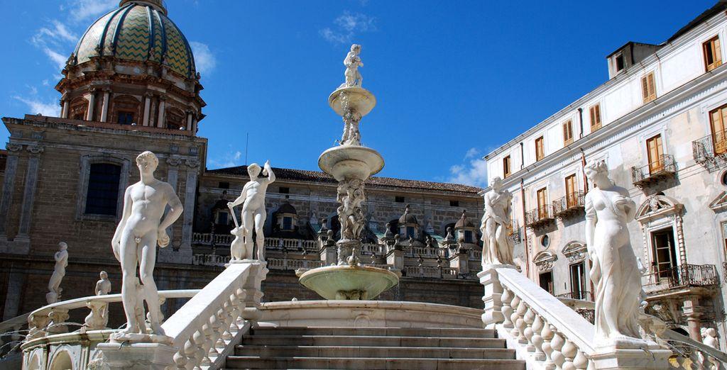 En ga op verkenning in de stad, met een ideale mix van cultuur, architectuur en een uitzonderlijke sfeer