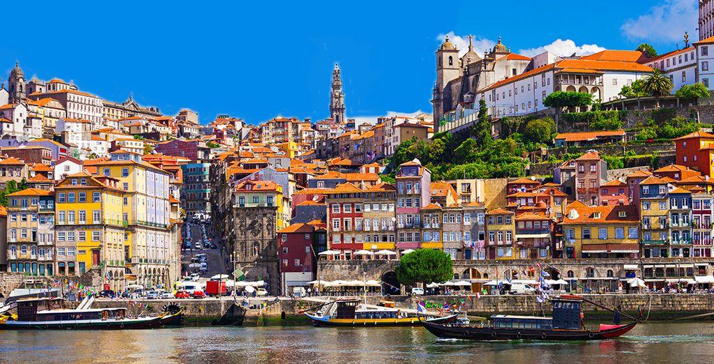 We nemen u mee naar het oogstrelende Porto