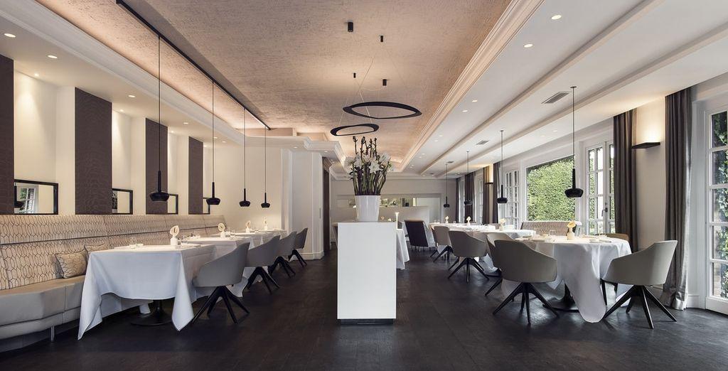 De beste culinaire mogelijkheden onder één dak, waaronder restaurant La Source