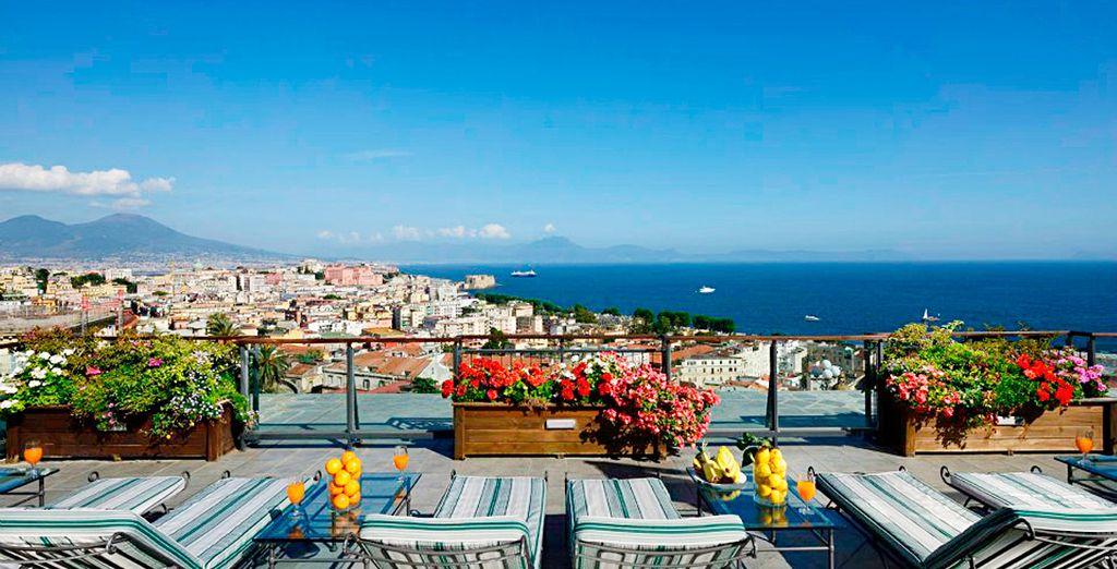 Een zonnige vakantie met panoramische uitzichten