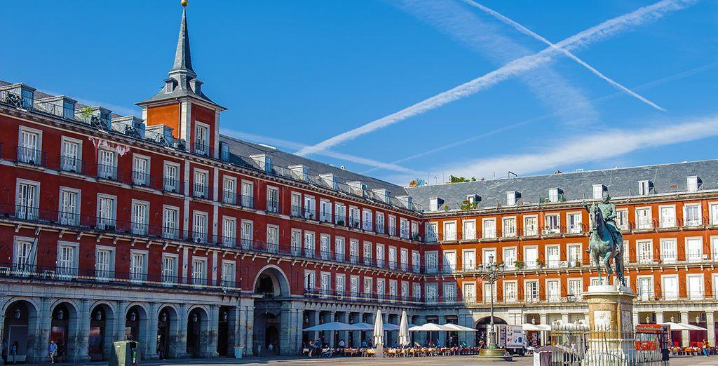 Het beroemde Plaza Mayor...