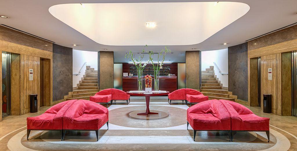 Een design hotel in het centrum van Rome