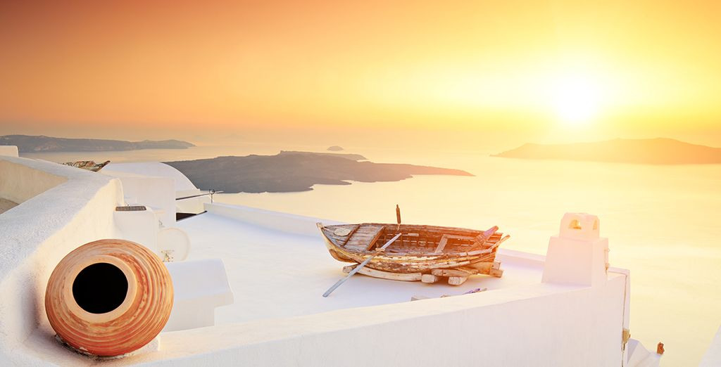Wij wensen u een prachtig verblijf in de Cycladen