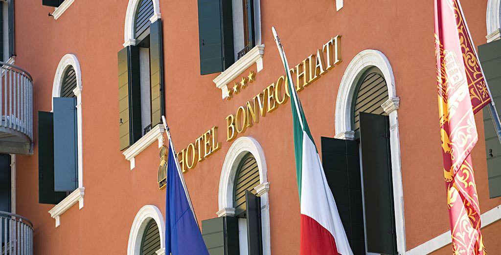 In het hart van Venetië