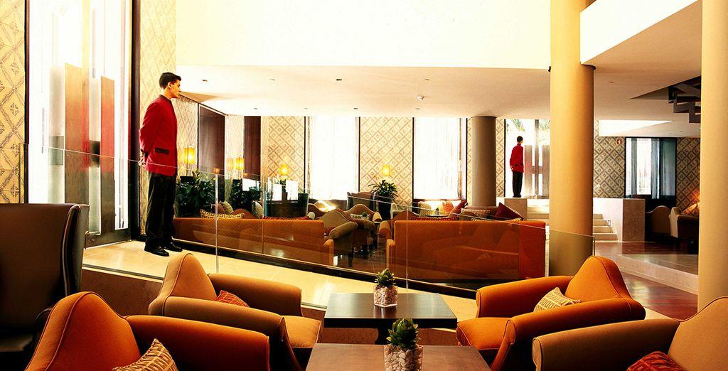 Uitrusten in uw hotel na een dag sightseeing