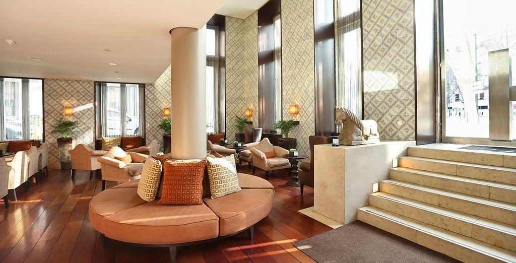 Verblijf in een stijlvol hotel