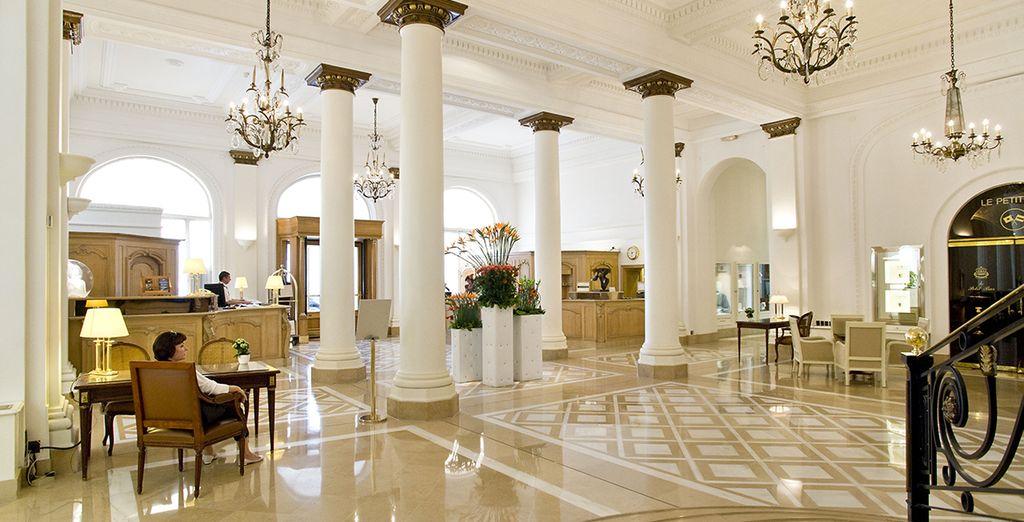 Eén van de bekendste hotels aan de Croisette