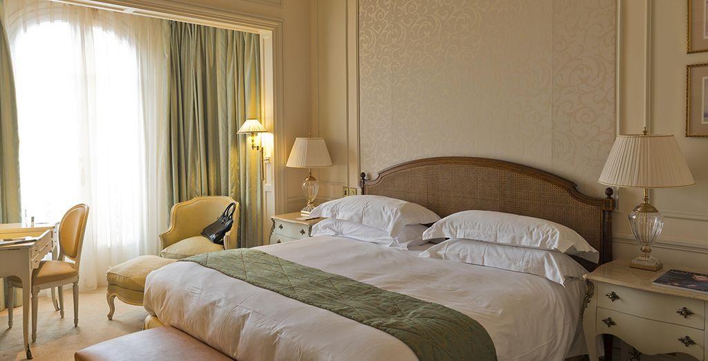 Of profiteer van een upgrade naar een Superior kamer, afhankelijk van de verblijfsperiode