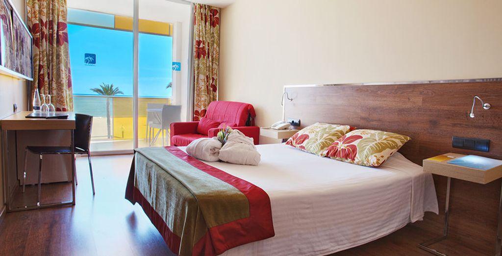 U verblijft in een comfortabele Standaard kamer