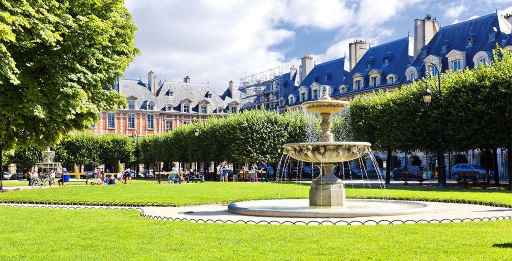 Ga vervolgens op ontdekking door de Le Marais wijk