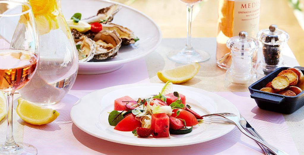Proef de verfijnde Mediterraanse keuken...