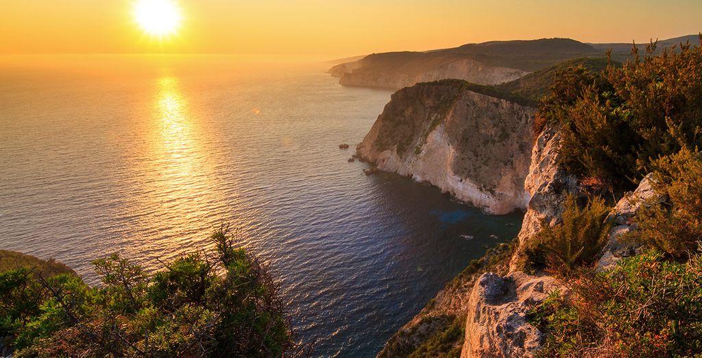 Op het eiland Zakynthos