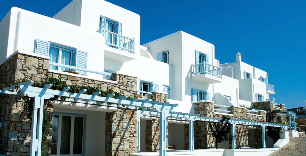 Welkom in Saint John Hotel Villas & Spa 5*