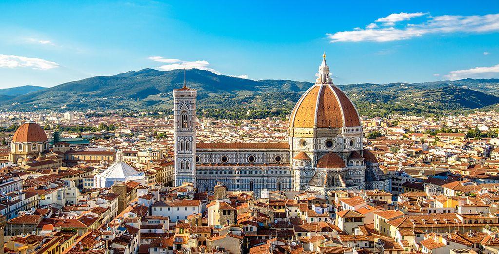 In het prachtige Florence!