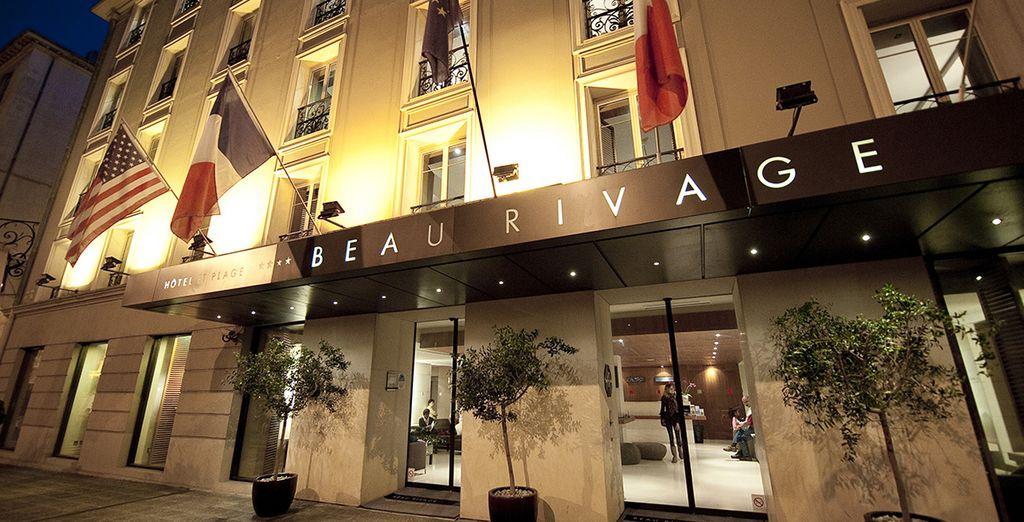 Welkom in het charmante hotel Beau Rivage 4*