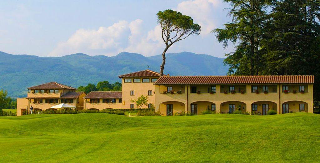Welkom in het Una Poggio dei Medi Golf & Resort 4*