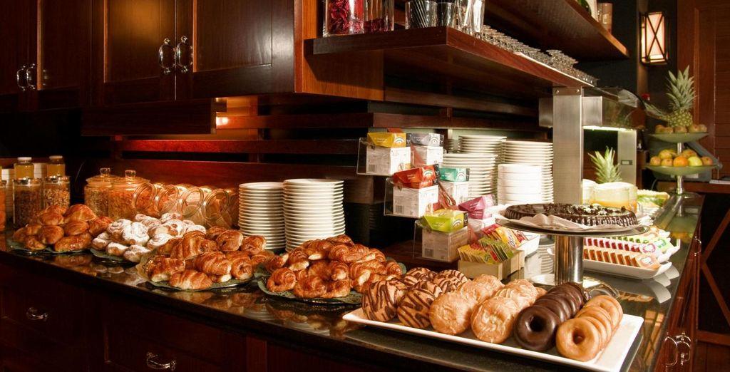 Elke ochtend begint u met een heerlijk ontbijt