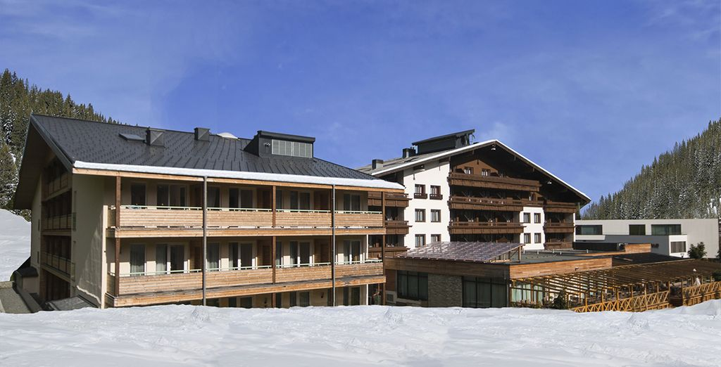 Het hotel beschikt over 2 gebouwen die met elkaar verbonden zijn