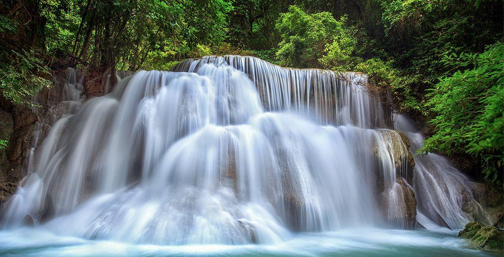 Magische watervallen...