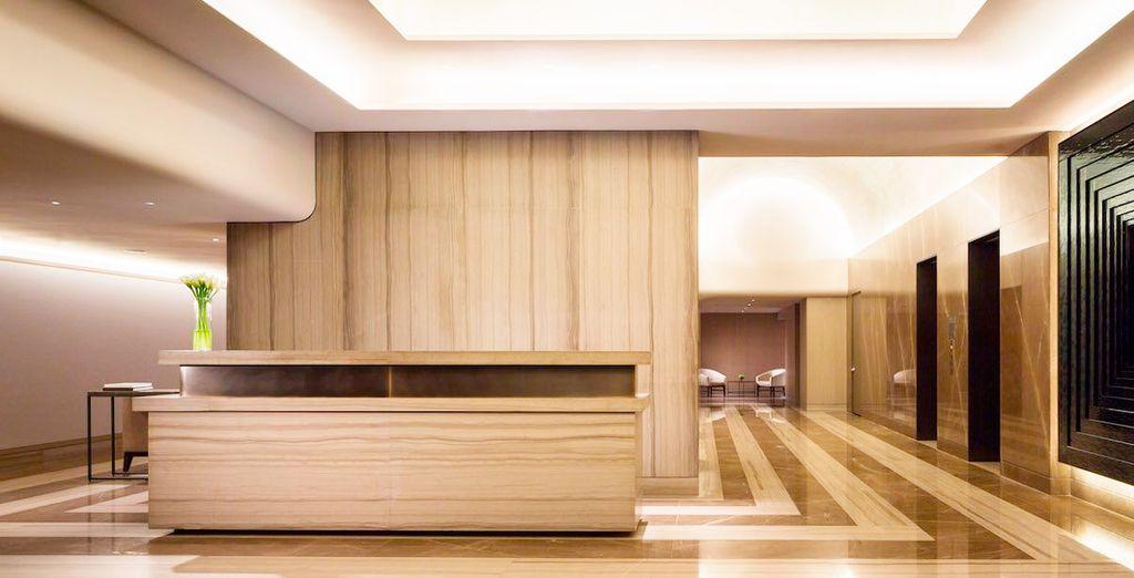 The Knickerbocker is an ultra modern hotel