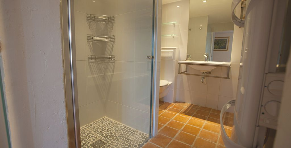 Complete with ensuite bathrooms for your comfort