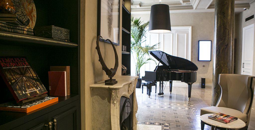 A modern and elegant establishment