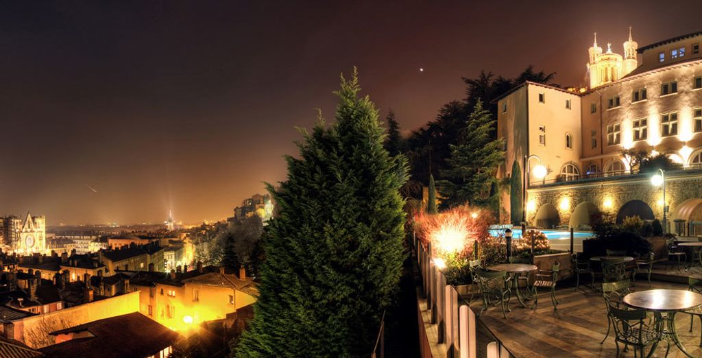Ideally located on the Fourvière hilltop