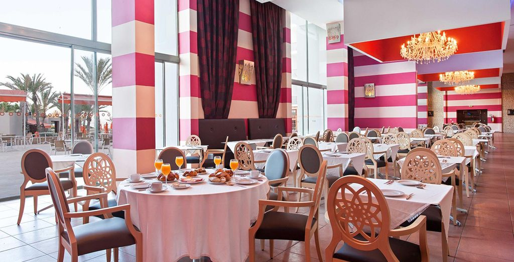 Savour delicious flavours and an elegant ambience