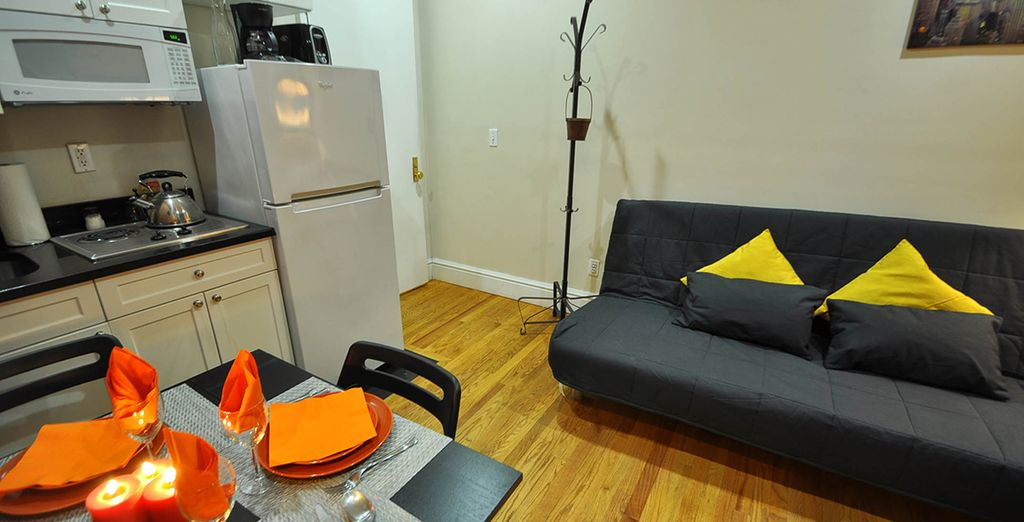 Cosy studio: Fabulous location - 1 block from the Empire State Building!