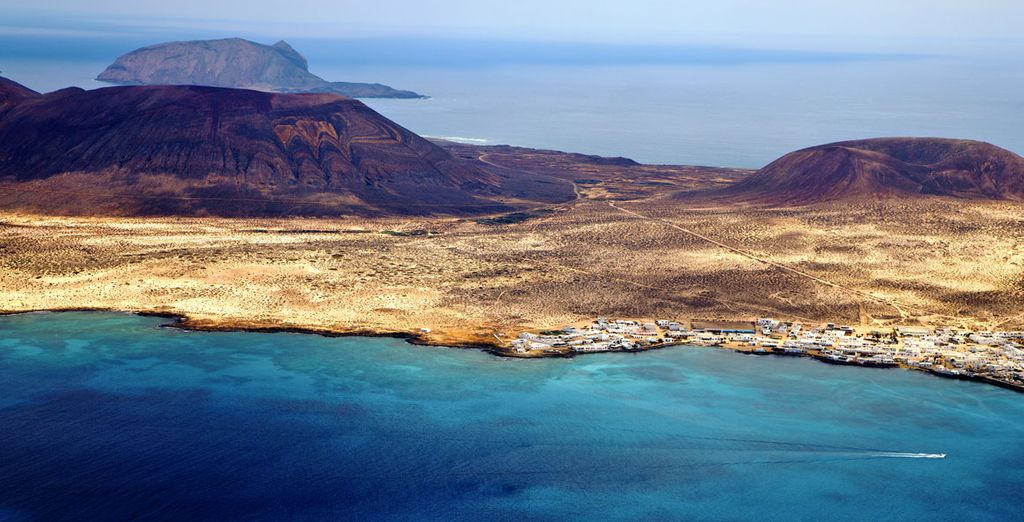 Located on the volcanic Lanzarote Island