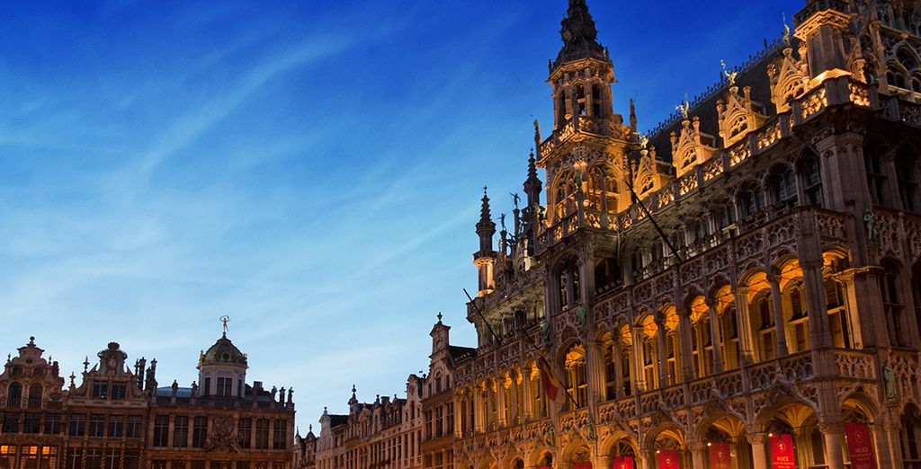 Fall under the spell of Brussels