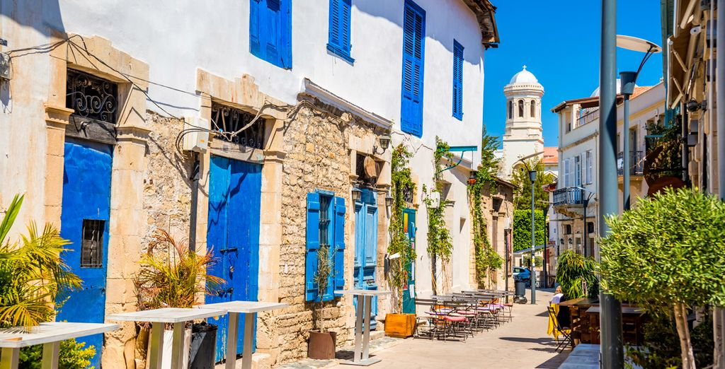 Then head out to discover the beautiful city of Limassol...