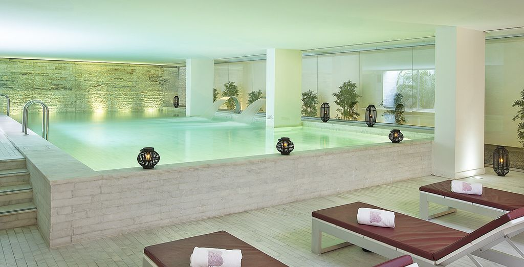The hotel is home to an award winning spa