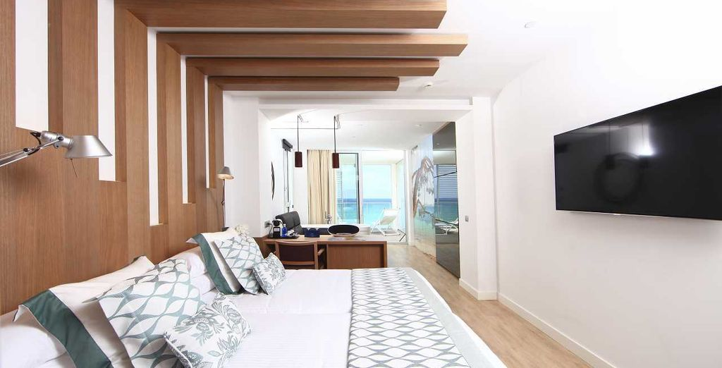 Whilst the Junior Suite will be your ultimate escape
