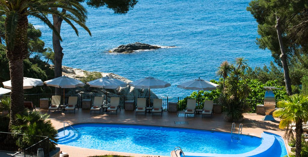 Fall in love with the charming Sallés Cala Del Pi hotel