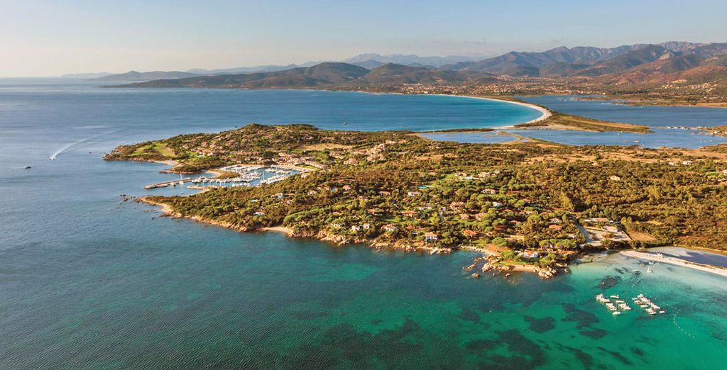 This Italian Island boasts a varied landscape and dozens of pristine sandy beaches