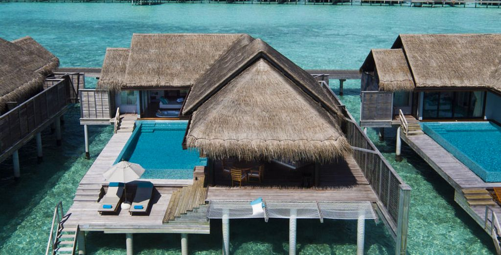 Or choose an an amazing Over Water Pool Villa