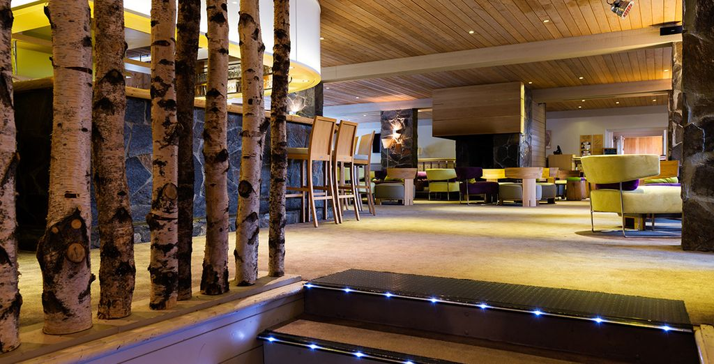 A modern hotel with authentic Alpine character
