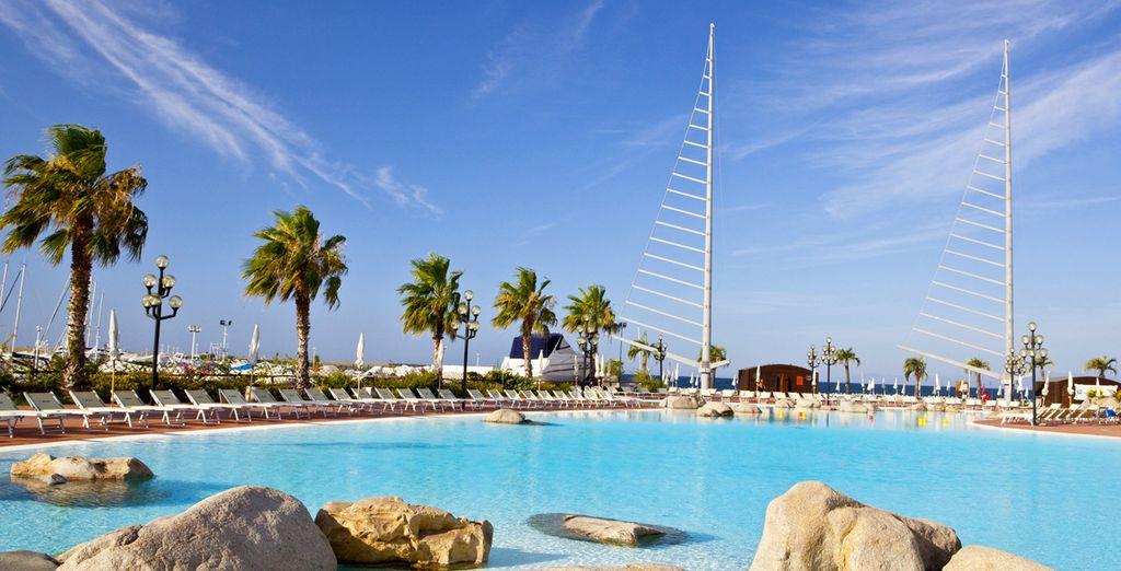 Discover Sardinia and this superb resort