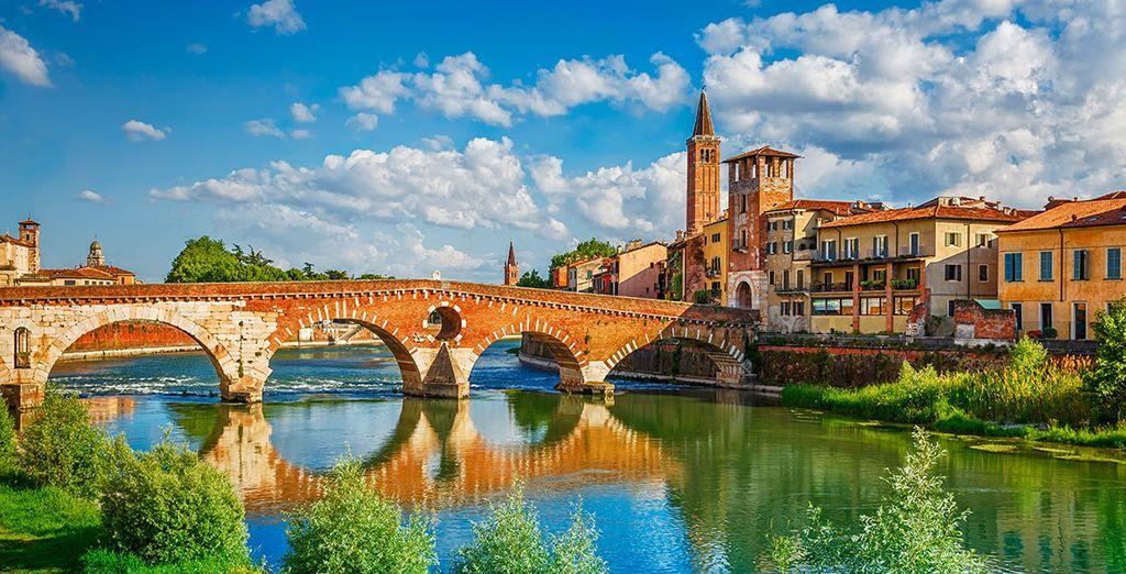 Enjoy proximity to the beautiful city of Verona