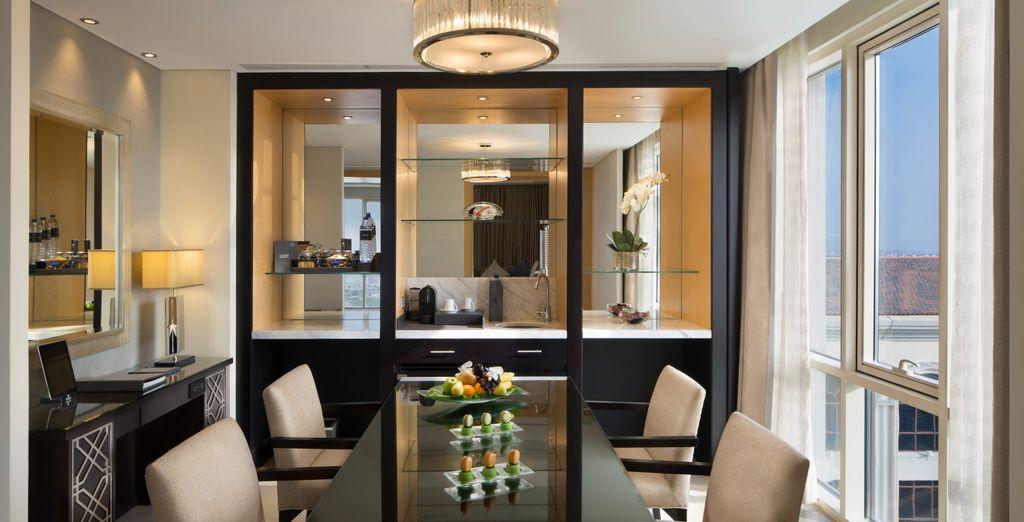 A Corner Suite