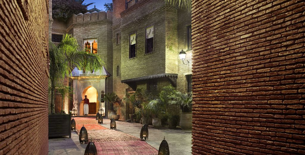 By opening the doors to The Sultana Marrakech 5*