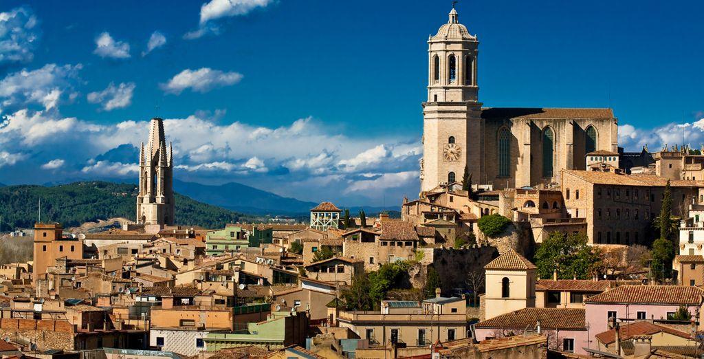 Close to magical Girona ...