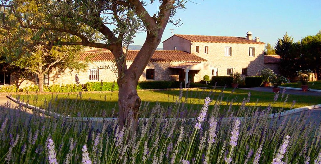A hotel in the heart of the Luberon region