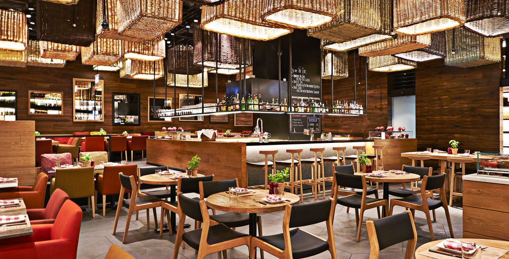 Discover gourmet restaurants
